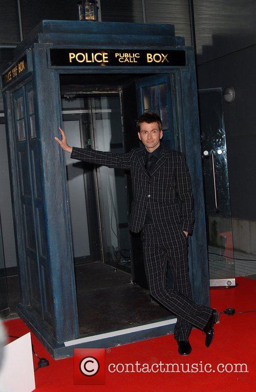 David Tennant 'Dr Who' screening of the christmas...