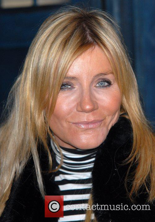Michelle Collins 'Dr Who' screening of the christmas...