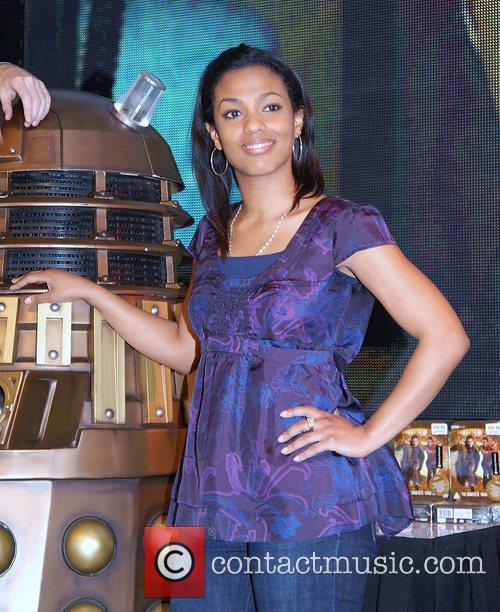 Freema Agyeman and Doctor Who 1