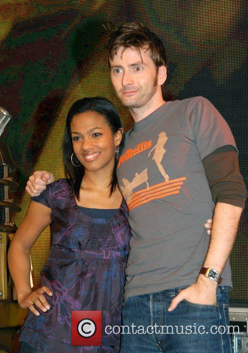 Freema Agyeman, David Tennant and Doctor Who 6