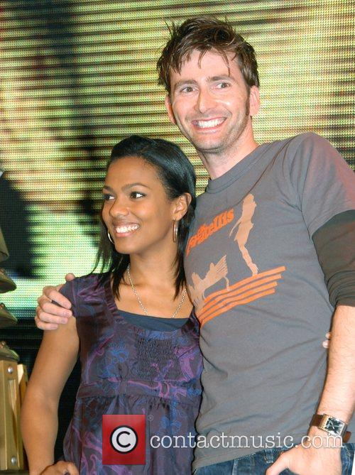 Doctor Who, David Tennant and Freema Agyeman 1
