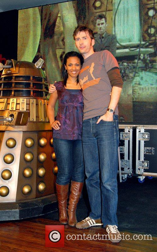 Freema Agyeman, David Tennant and Doctor Who 5