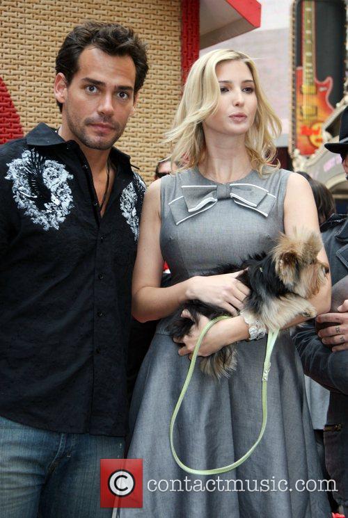 Cristian De La Fuente and Ivanka Trump 6