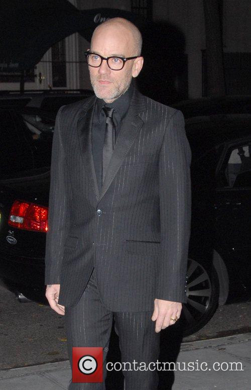 Michael Stipe at the Dolce & Gabbana fragrance...