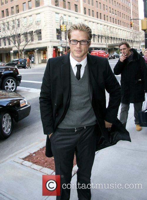 Jason Lewis arrives at the Dolce & Gabbana...