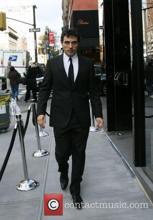 Rufus Sewell departs the Dolce & Gabbana men's...