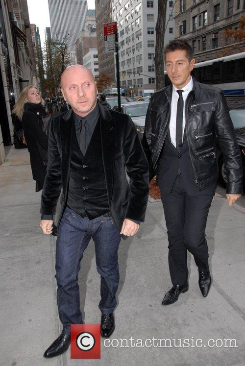 Dolce & Gabbana men's store opening and pre-fall...
