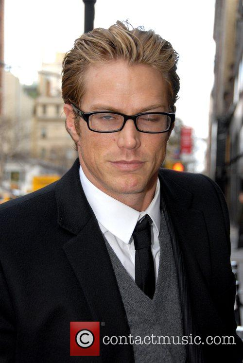 Jason Lewis arrive at the Dolce & Gabbana...