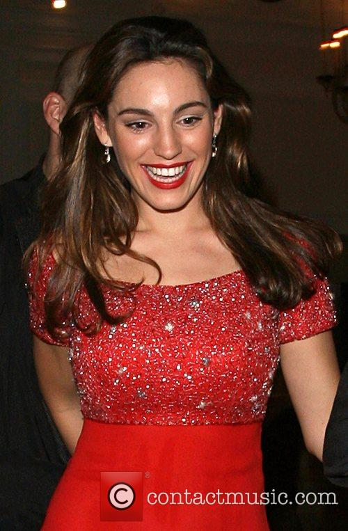 Kelly Brook leaving the Dom Perignon party held...