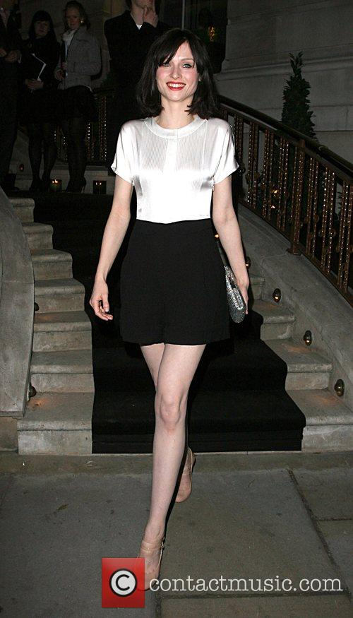 Leaving the Dom Perignon party held at the...
