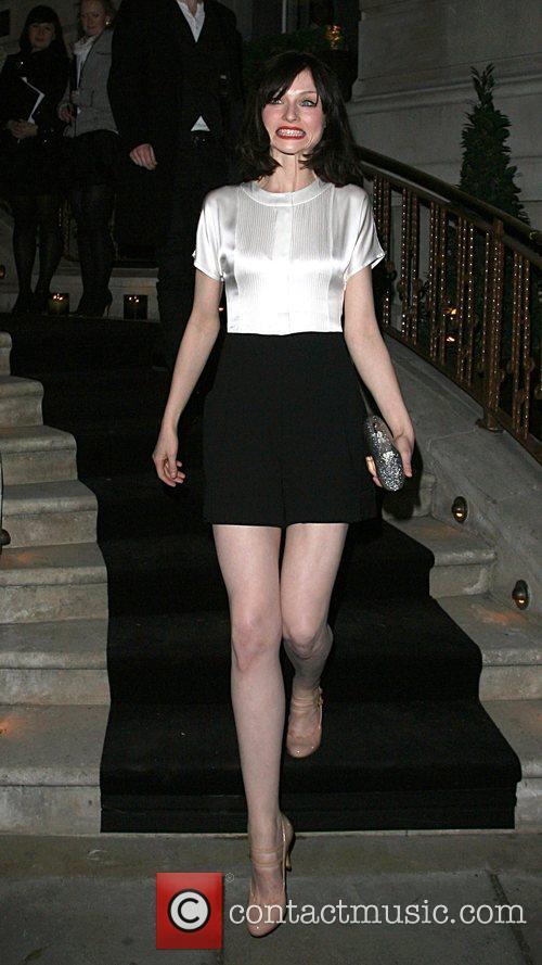 Sophie Ellis-Bextor leaving the Dom Perignon party held...
