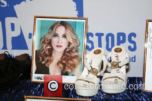 Madonna's Shoes Marshall's retailer hosts their annual 'Shop...