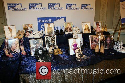 Celebrity Shoe Collection Marshall's retailer hosts their annual...