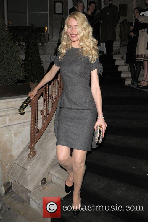 Claudia Schiffer at Dom Perignon party held at...