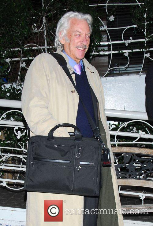 Donald Sutherland is approached by celebrity stalker Yehya when...