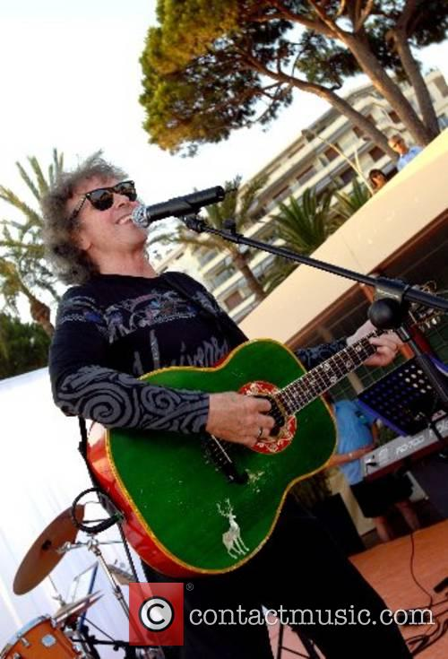 Performing live at Martinez Beach during the 'Cannes...