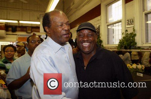 Former Washington D.C Mayor Marion Barry and Donnie...