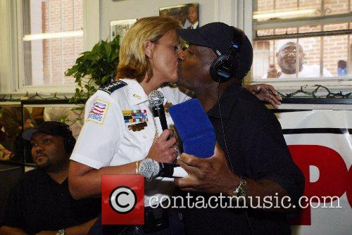 Chief Cathy Lanier and Donnie Simpson Today has...
