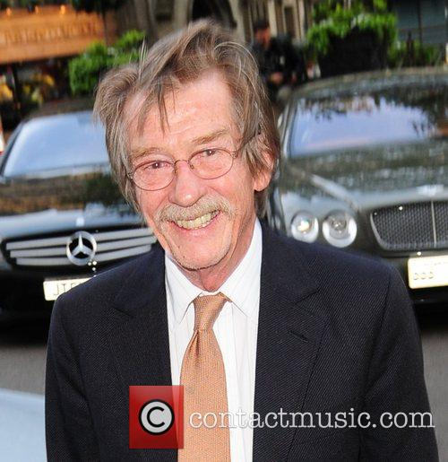 John Hurt at the Dorchester London, England