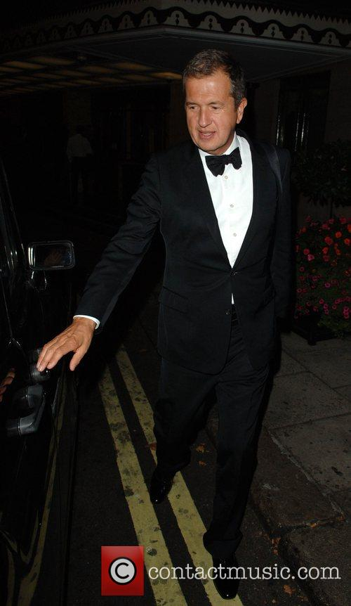 Mario Testino at The Dorchester Hotel