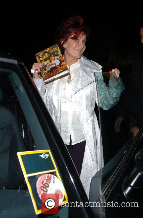 Sharon Osbourne at the Dorchester Hotel