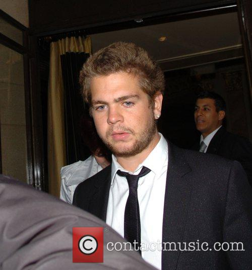 Jack Osbourne at the Dorchester Hotel