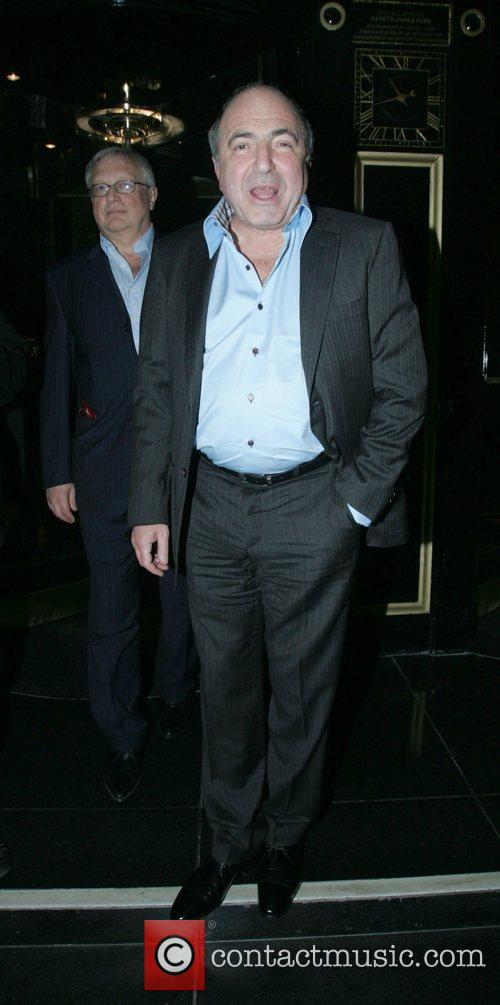 Boris Berezovsky leaving the Dorchester Hotel after having...