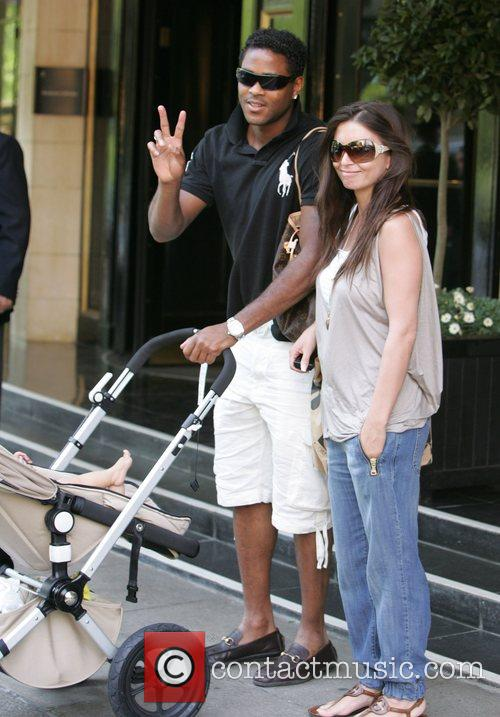 Patrick Kluivert and his wife Rosanna Lima at...