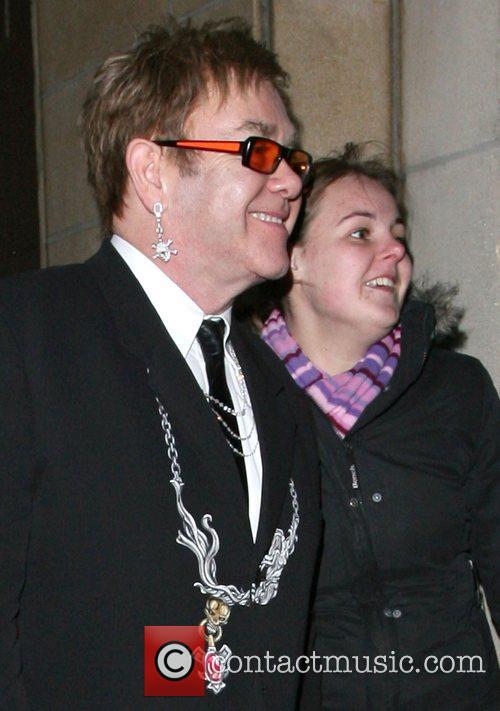 Elton John, Dorchester Hotel