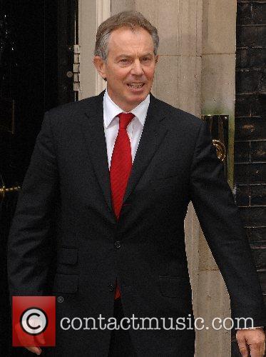 Tony Blair arrives at 10 Downing Street on...