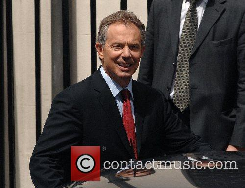 Tony Blair leaves 10 Downing Street for the...