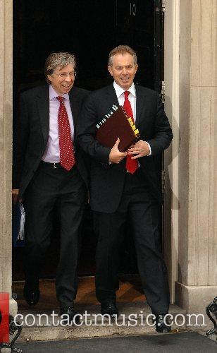 The Prime Minister, Tony Blair leaving 10 Downing...