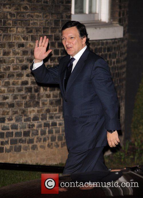 European leaders meet to discuss European financial policy...