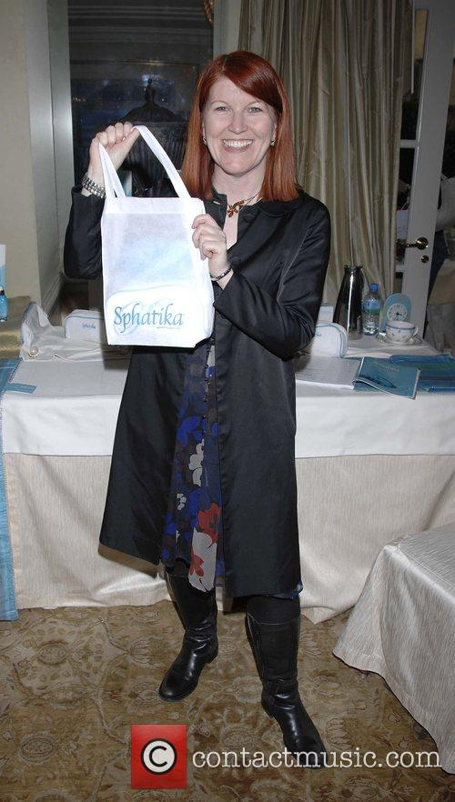 Kate Flannery  Pre-Golden Globes award Gifting Lounge...