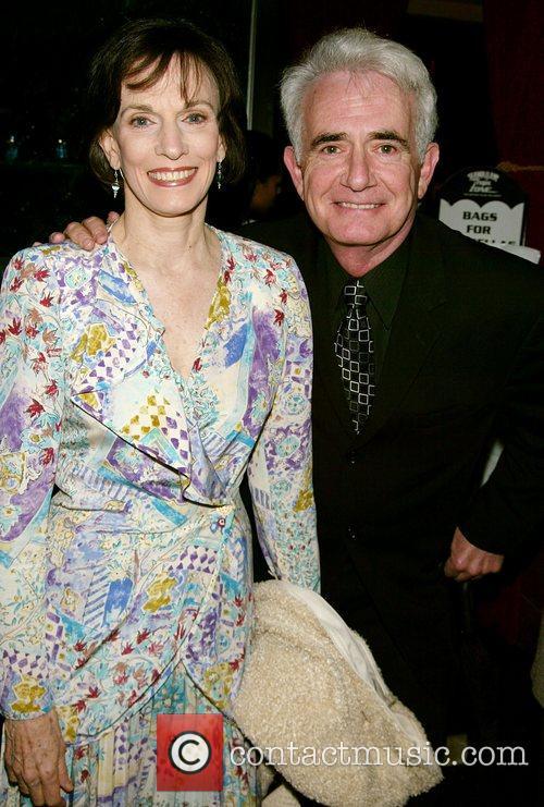 Richard Kline and guest 53rd Drama Desk Awards...