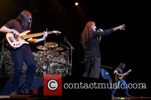 John Myung, James Labrie and John Patitucci of...