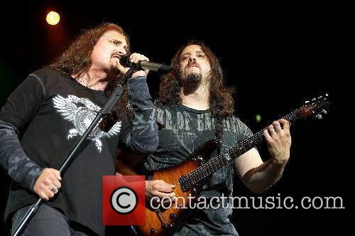 James Labrie and John Petrucci of Dream Theatre...