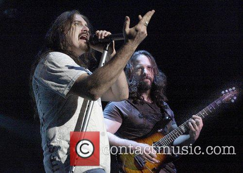 James LaBrie (vocals) and John Petrucci (guitar) Dream...