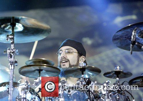 Mike Portnoy Dream Theater performing live in concert...