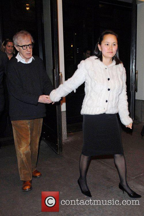 Woody Allen, Soon-Yi Previn After party for the...