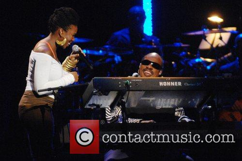 India Arie and Stevie Wonder 2