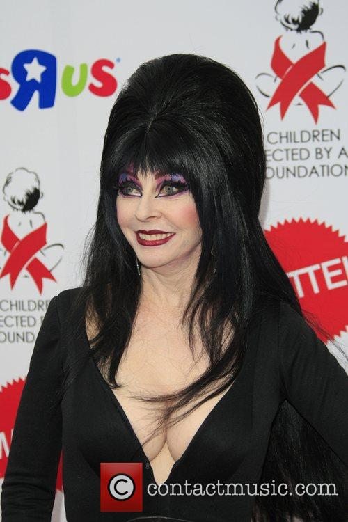 Elvira aka Cassandra Peterson 14th annual Dream Halloween...