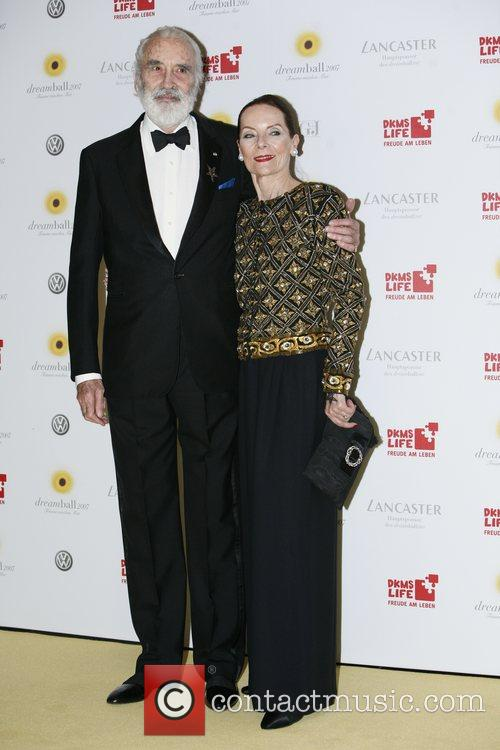 Christopher Lee and Wife Gitte 2