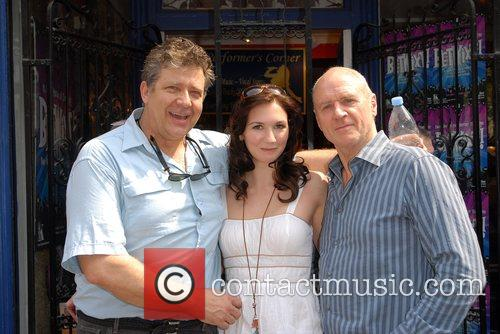 Phillip Quast, Summer Strallan & Alan Dale Dress...