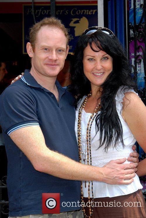 Robert Hands & Nina Soderquist Dress Circle photocall...