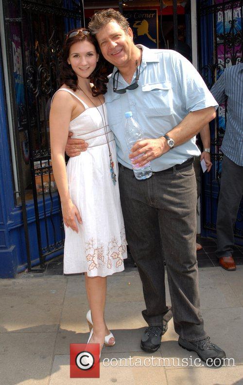 Summer Strallan & Phillip Quast Dress Circle photocall...