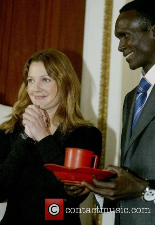 Paul Tergat and Drew Barrymore  on Capital...