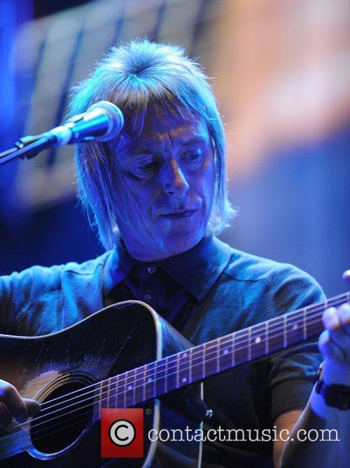 Paul Weller performing at the Royal Albert Hall...