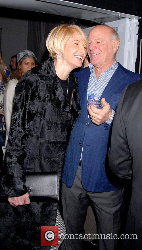 Ellen Barkin and Barry Diller 2