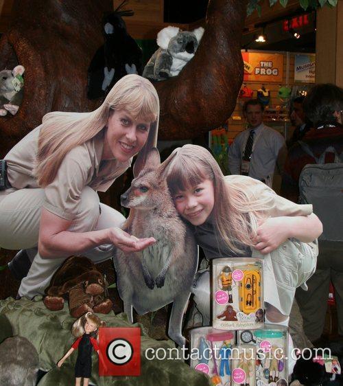 Bindi Irwin Dolls 'Toy Fair 2008' held at...